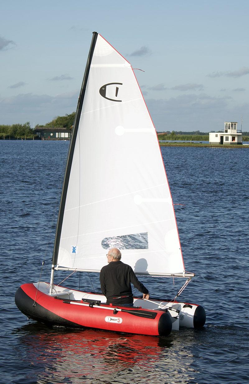 DinghyGo sail-kit upgrade 4,8m2