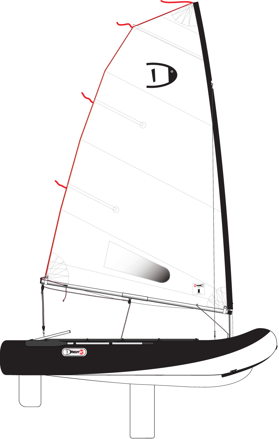 DinghyGo Orca (reservering levering april 2019)