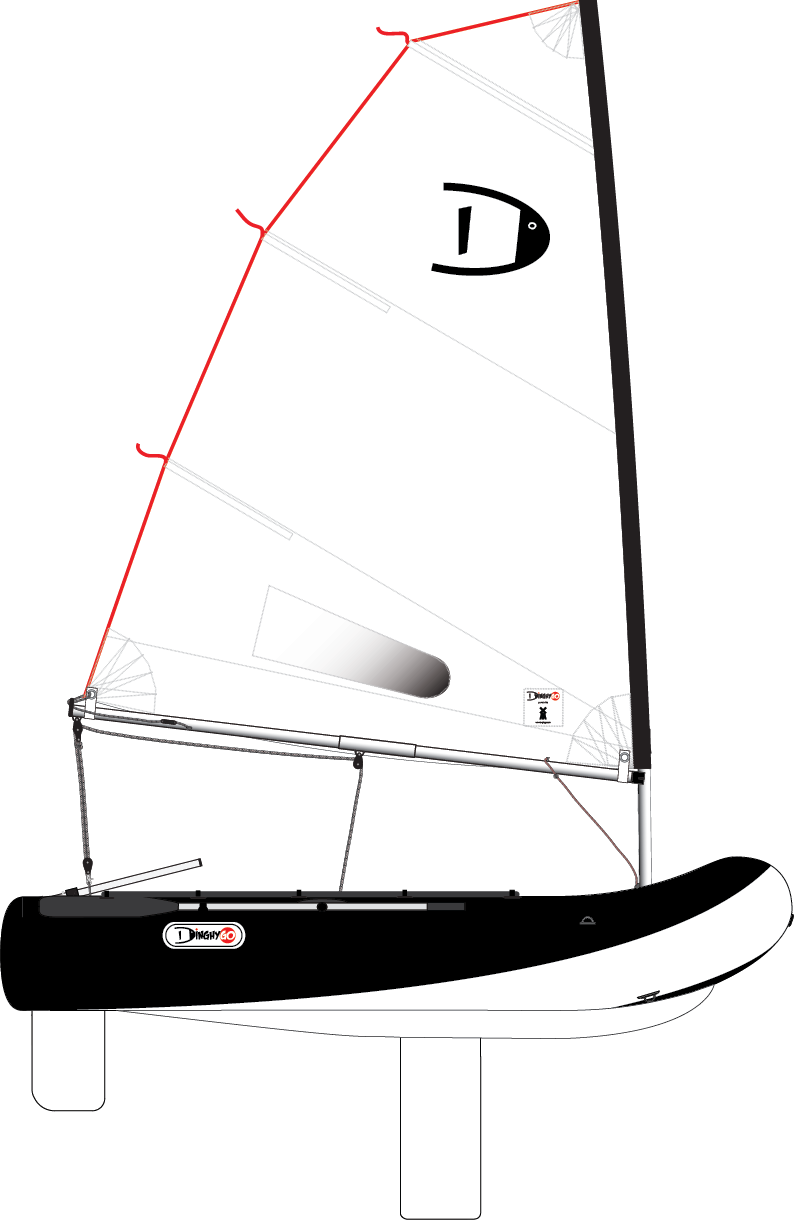 DinghyGo Orca 280 (beschikbaar eind april)