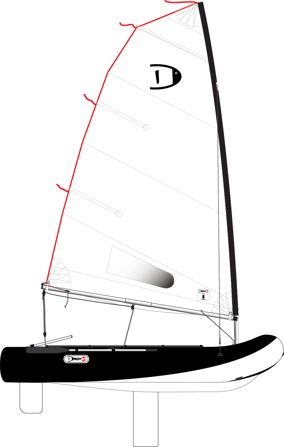 DinghyGo Orca 325 (levering april 2021)