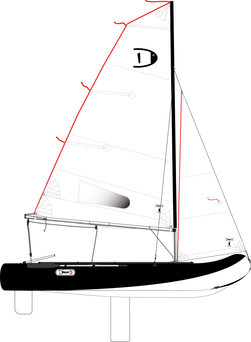 DinghyGo Orca 375 (levering april 2021)
